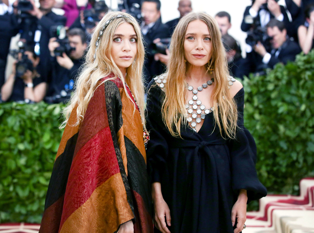 ESC: WTF, Met Gala 2018, Mary-Kate Olsen, Ashley Olsen